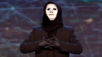 artiste illusionniste ou prestigitateur masqué