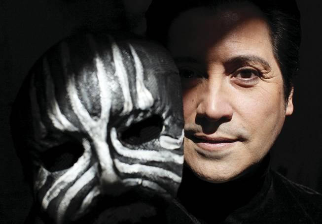 Val Valentino, 52, aka the Masked Magician